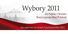 Wizualizacja wyborów do Sejmu i Senatu 2011